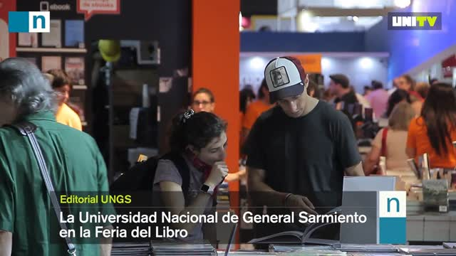 La UNGS en la 44° Feria Internacional del Libro de Buenos Aires