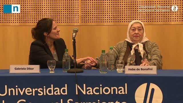 Madres de Plaza de Mayo firma convenio de cooperación con la UNGS