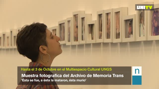 Muestra fotográfica del Archivo de la Memoria Trans