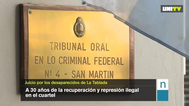 Juicio por los desaparecidos de La Tablada