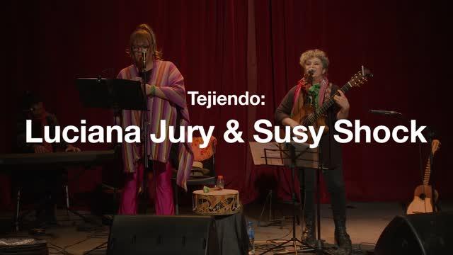 Luciana Jury y Susy Shock
