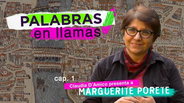 Claudia D'Amico presenta a Marguerite Porete