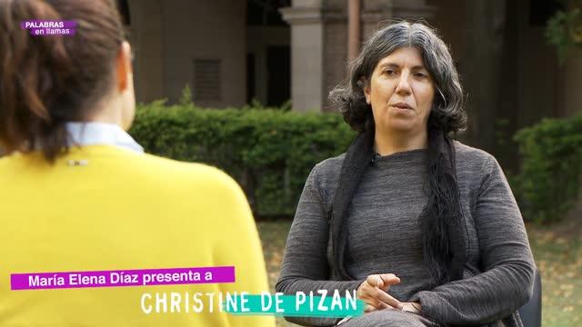 María Elena Díaz presenta a Cristina Pizan