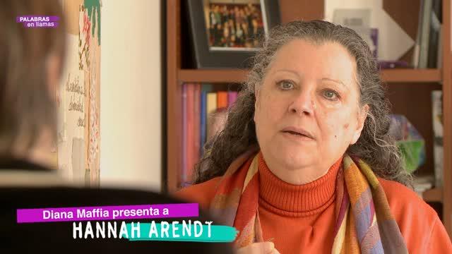 Diana Maffía presenta a Hannah Arendt