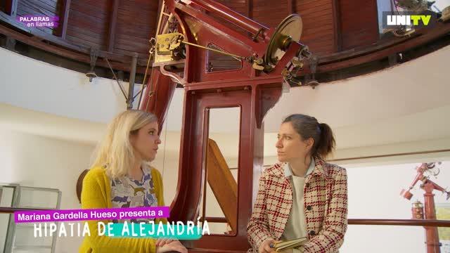 Mariana Gardella Hueso presenta a Hipatia de Alejandría
