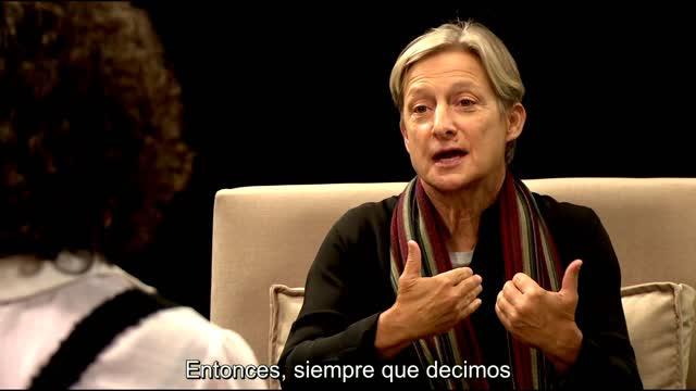 Andrea Torricella y Judith Butler